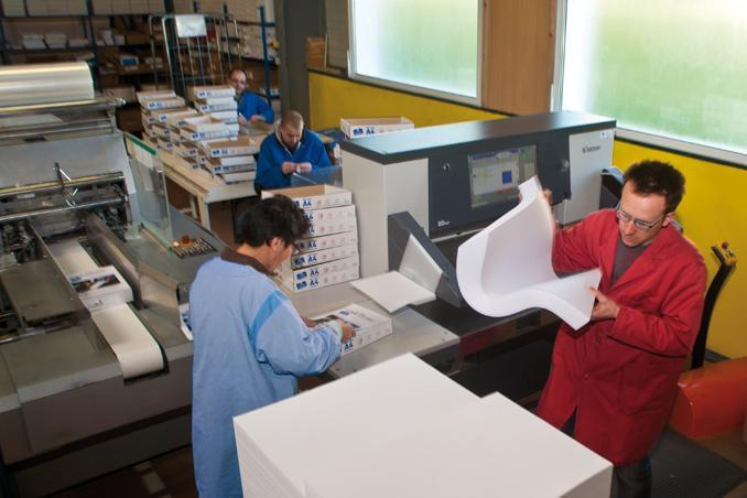 Façonnage papier La Gacilly Morbihan